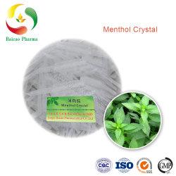 CAS رقم 89-78-1 المصنع السعر جيد الجودة كريستال طبيعي منتول نكهة الطعام والأغذية استخراج الزيت الأساسي