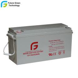 Commerce de Gros 12V 150Ah Valve Regulated Plomb-acide de Batterie de Stockage avec Un Bon Prix