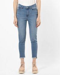 方法伸張のデニムのジーンズの女性のズボン