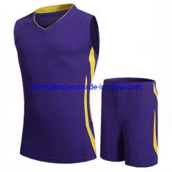 Мода для мужчин баскетбол форму костюмы дышащий сарафан спортивной одежды устанавливает