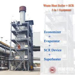 Dispositivo di recupero di calore verticale di rifiuti caldaia +SCR dispositivo di azione integrato.
