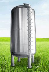 Líquidos y gaseosos inoxidable tanque de almacenamiento de material