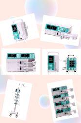 Numérique portable seringue pour perfusion de la pompe péristaltique pour ICU en stock la Chine avec un bon prix