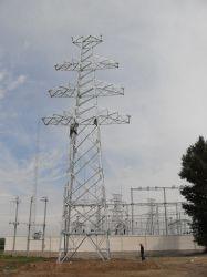 La transmission de puissance de l'angle de la tour de la tension d'acier