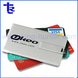 Tarjeta de crédito USB con impresión a todo color
