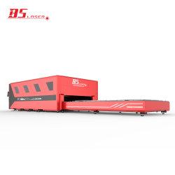 Platform & Volledige CNC van de Dekking Machine Om metaal te snijden 4020 van de uitwisseling van het Blad van de Snijder van de Laser van de Vezel