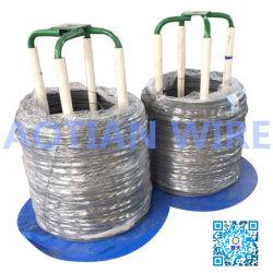 Filo di acciaio rivestito del codice categoria 8.8 dell'intestazione di qualità del fosfato freddo della vergella SAE10b21 per la fabbricazione dei chiodi