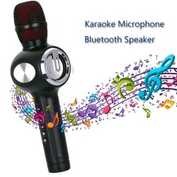 Micrófono de conferencia Karaoke altavoz con función de el canto de Duet