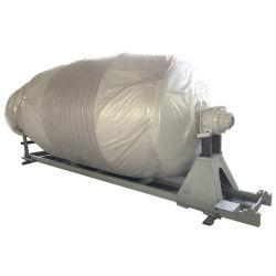 Емкость упаковки 3-9 м3 бетона погрузчика верхнего бака заслонки смешения воздушных потоков