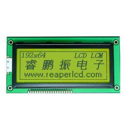 Module d'affichage LCD monochrome 192 x64 FSTN LCD graphiques STN avec rétroéclairage blanc