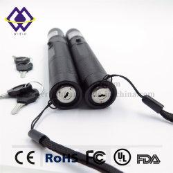 Kundenspezifisches starkes populäres Blau 100MW für heiße Verkaufs-Schlüssel-Laser-Zeiger-Feder