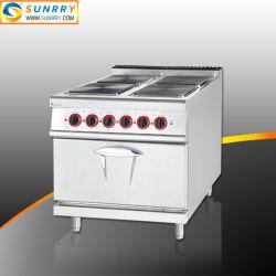 Restaurantapparatuur Commercieel kookassortiment met 4 branders Hot Plate En Electric oven