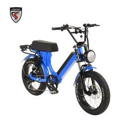 20inch 알루미늄 합금 Bafang 모터 긴 안장 바닷가 눈 E 자전거 승인되는 전기 자전거 세륨을%s 가진 전기 뚱뚱한 타이어 자전거