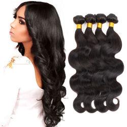 100% Brasileña cabello humano real la trama de la cutícula del cabello virgen alineado el doble de trama