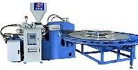 TPU rotativa/PP Máquina de Moldagem por Injeção da sapata para Mking palmilha