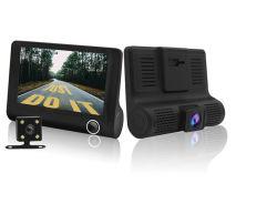 3 caméra 1080HD voiture moniteur Full HD avec nuit version pour boucle d'emballage d'enregistrement de 24 heures