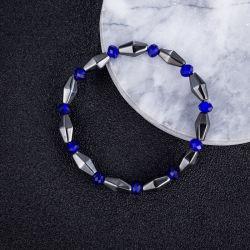 Saphir noir conique de calculs biliaires Mode bijoux Bracelet