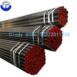 China-Fabrik-kohlenstoffarmes Stahlrohr, kohlenstoffarmes nahtloses Rohr ASTM A192, ASME SA179 SA179 Dampfkessel-Überhitzer-Stahlrohr