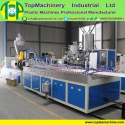 목재 플라스틱 WPC 건설 템플릿 PVC 플라스틱 플레이트 압출 기계