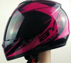 맞춤 제작 플라스틱 제품 / 부분 ABS 안전 패셔너블한 풀 페이스 오토바이 헬멧