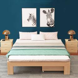 جديدة صلبة صنوبر سرير غرفة نوم أثاث لازم 0223