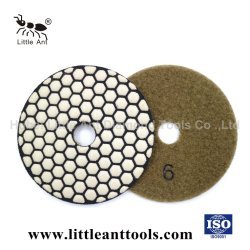 Diamante de 3 pulgadas de pulido de diamantes de herramientas abrasivas Pad Pad para pulir en seco Counter-Top y concreto