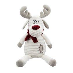 Chritmas don de la Soft Reno de peluche con bufanda juguete para KDS y amigos