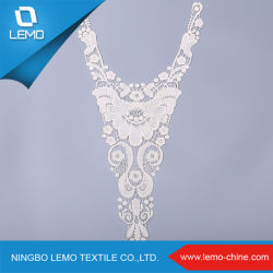 Low MOQ Chemical V Design Cotton Neck Lace with 최신 제품 세련된 패션