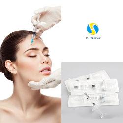 長続きがする注射可能な皮膚注入5mlのリップ、表面、鼻の注入口のための十字によってリンクされるHyaluronic酸の注入口