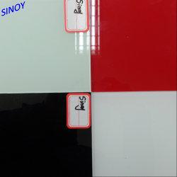 vetro verniciato posteriore/di 3mm-6mm comitati di vetro verniciati colore
