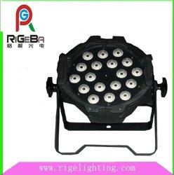 18 ليساتx10 واط RGBW 4 في 1 LED Bar par 64 LED بار Stage DJ إضاءة للأحداث