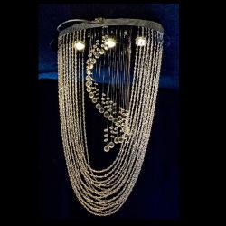 ثريات LED كريستالية شعبية (Em3356-3L)