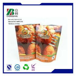 Diseño personalizado de la bolsa de embalaje de alimentos