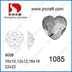 ウェディングドレスのための装飾的な平らな背部中心の水晶ガラス石