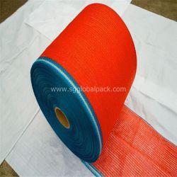 PE Raschel Filet en rouleaux de tissu pour l'emballage de légumes