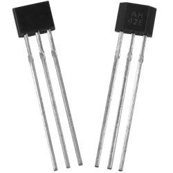 Sensor de efecto Hall (AH3142) , Interruptor de efecto Hall, salón IC, Detección automático de puertas, Sensor Magnético,