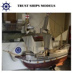 歴史的帆ボートモデル