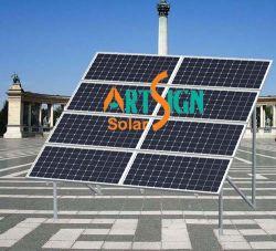 De Opzettende Systemen van de Grond van het terras voor Zonne Photovoltaic Modules/Kristallijne PV Modules