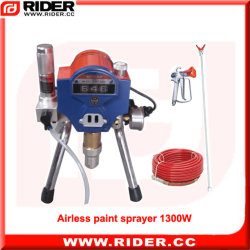 1300W Pulvérisateur Airless peinture de la pompe à piston