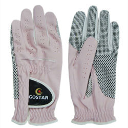 Ladies' Rose Cuir synthétique Gant de golf (PGL-64)