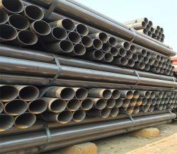 Le carbone doux métal soudé Ms restes explosifs des guerres du tube de tuyaux en acier noir