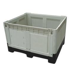 견고한 벽이 있는 스택형 재사용 가능 폐쇄형 벌크 컨테이너