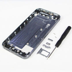 Metall Middle Frame Back Battery Door Housing für iPhone 5s