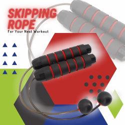 Ropeless Jump Rope, 휴대용 건너뛰는 로프, 공 피트니스 운동 스포츠 트레이닝 도구 Esg14462가 있는 무선 점프 로프