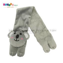 Ressort en peluche /l'automne chaud foulard avec jouet en peluche Koala