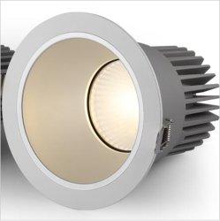 Встраиваемый светильник набегающей крытый декоративные светодиодные потолочные лампа/светодиодный индикатор с регулируемой яркостью затенения