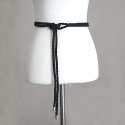 La catena/corda di cuoio della vita dell'unità di elaborazione della cinghia di vita delle donne con la nappa borda lo stile dell'annata 43 pollici