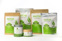 Polvo del té de Matcha de la muestra libre del OEM