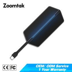Zoomtak高速固体アルミニウムHDMI 4K 8ポートUSBのタイプCのハブ