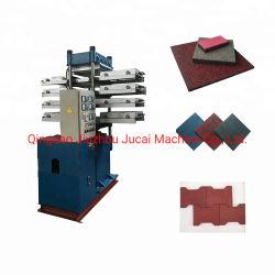 Резиновый пол керамическая плитка Vulcanizing нажмите машины и производственной линии